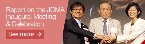 Report on the JCMA Inaugural Meeting & Celebration